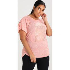 Topy sportowe damskie: Raiski SHIBYA Tshirt z nadrukiem hot coral