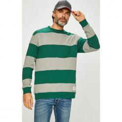 Tommy Jeans - Bluza. Szare bejsbolówki męskie Tommy Jeans, l, z bawełny, bez kaptura. Za 399,90 zł.
