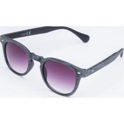 Okulary przeciwsłoneczne damskie aviatory: Okulary przeciwsłoneczne w szarych oprawkach