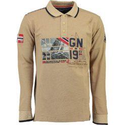 "Koszulki polo: Koszulka polo ""Kalopark"" w kolorze beżowym"