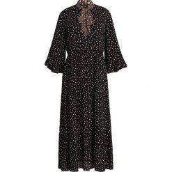 Second Female SYRENIA DRESS Długa sukienka black. Czarne długie sukienki Second Female, s, z materiału, z długim rękawem. Za 879,00 zł.