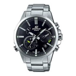 Zegarek Casio Męski EQB-700D-1AER Edifice BT 4.0 Solar Dual Time srebrny. Szare zegarki męskie CASIO, srebrne. Za 1413,99 zł.