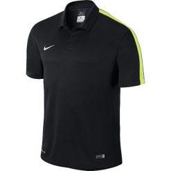 Koszulki polo: Nike Koszulka męska Squad15 SS Sideline Polo  czarny r. XL  (645538-011)