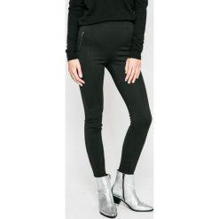 Vero Moda - Legginsy. Czarne legginsy marki Vero Moda, m, z elastanu. W wyprzedaży za 99,90 zł.