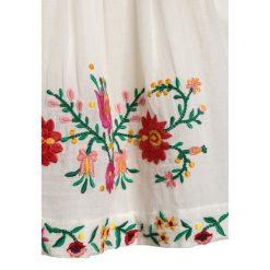 Derhy JESSICA JUPE  Spódnica mini ecru. Białe spódniczki dziewczęce Derhy, z bawełny, mini. Za 259,00 zł.
