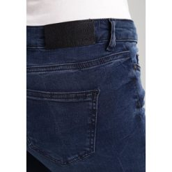 Rurki damskie: Noisy May Jeans Skinny Fit dark blue denim
