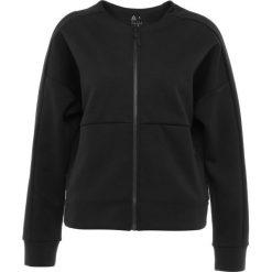 Reebok FULL ZIP COVERUP Bluza rozpinana black. Czarne bluzy rozpinane damskie Reebok, m, z bawełny. Za 349,00 zł.