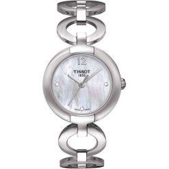 RABAT ZEGAREK TISSOT T- LADY. Białe zegarki męskie TISSOT, ze stali. W wyprzedaży za 929,00 zł.