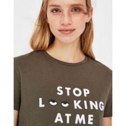 T-shirty damskie: Koszulka z rysunkiem oczu