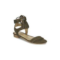 Sandały Betty London  IKARA. Zielone sandały damskie marki Betty London. Za 175,20 zł.