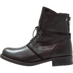 Buty zimowe damskie: DNA Footwear BV JADA Botki sznurowane black