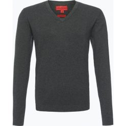 Finshley & Harding - Sweter męski, szary. Szare swetry klasyczne męskie Finshley & Harding, l, z bawełny. Za 129,95 zł.