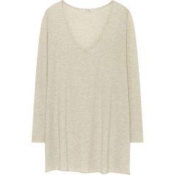 Sweter w kolorze kremowym. Białe swetry oversize damskie American Vintage, s, z wełny. W wyprzedaży za 151,95 zł.