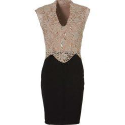 Sukienki balowe: Sukienka bonprix czarno-beżowy