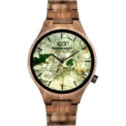 Zegarek Giacomo Design Drewniany męski  GD08802. Brązowe zegarki męskie Giacomo Design. Za 559,00 zł.