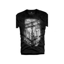 T-shirt UNDERWORLD Ring spun cotton Danger. Szare t-shirty męskie z nadrukiem marki Underworld, m, z bawełny. Za 59,99 zł.