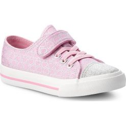 Trampki dziewczęce: Tenisówki NELLI BLU – CYL6043-3 Różowy