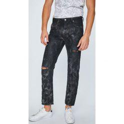 Diesel - Jeansy Mharky. Szare jeansy męskie slim Diesel, z bawełny. W wyprzedaży za 899,90 zł.