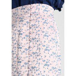 Spódniczki: Lost Ink BUTTON SKIRT Spódnica trapezowa pink