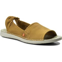 Rzymianki damskie: Sandały SOFTINOS – Teesof P900430003 Yellow