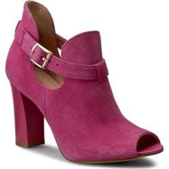 Botki OLEKSY - 314 245. Czerwone buty zimowe damskie Oleksy, ze skóry. W wyprzedaży za 199,00 zł.