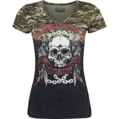 T-shirty damskie: Rock Rebel by EMP Shades Of Truth Koszulka damska czarny