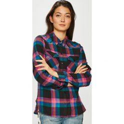 Noisy May - Koszula. Szare koszule damskie w kratkę Noisy May, l, z bawełny, casualowe, z klasycznym kołnierzykiem, z długim rękawem. W wyprzedaży za 99,90 zł.