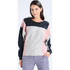 Swetry damskie: Vila VIGRISINA BATWING Sweter dark blue, rose