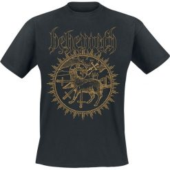 T-shirty męskie: Behemoth Inverted Cross T-Shirt czarny