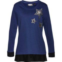 Bluzy damskie: Bluza bonprix kobaltowy