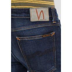 Nudie Jeans Jeansy Slim Fit dark deep worn. Czarne jeansy męskie marki Criminal Damage. W wyprzedaży za 347,40 zł.