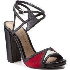 Rzymianki damskie: Sandały BRUNO PREMI – Vit + Vit + Cam K2303N  Nero/Bianco/Rosso