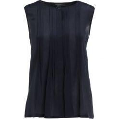Bluzki asymetryczne: WEEKEND MaxMara BRAVA Bluzka blue marino