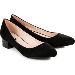Buty ślubne damskie: ZAMSZOWE CZÓŁENKA NA CO DZIEŃ