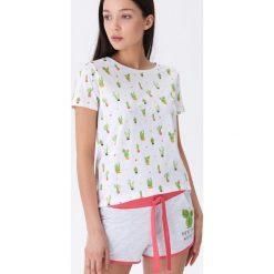 aa99c6d9a9a849 Dwuczęściowa piżama z nadrukiem - Wielobarwny. Szare piżamy damskie House,  s, z nadrukiem