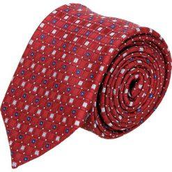 Krawat platinum bordo classic 246. Brązowe krawaty męskie Recman. Za 49,00 zł.