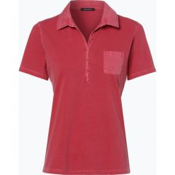 Marc O'Polo - T-shirt damski, czerwony. Szare t-shirty damskie marki U.S. Polo, l, z aplikacjami, z dzianiny, z okrągłym kołnierzem. Za 199,95 zł.