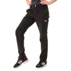 4f Spodnie softshell damskie H4L18-SPDT001 r. S. Szare spodnie sportowe damskie marki 4f, l, z elastanu, z dekoltem w łódkę. Za 170,02 zł.