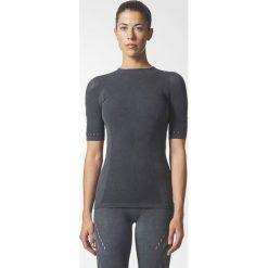 Bluzki asymetryczne: Adidas Koszulka damska WRPKNT TEE SLIM szara r. L (CE7827)