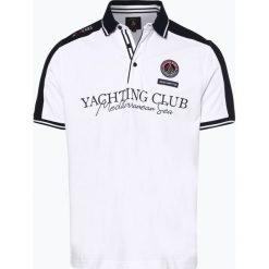Andrew James Sailing - Męska koszulka polo, niebieski. Niebieskie koszulki polo Andrew James Sailing, m, z bawełny. Za 149,95 zł.