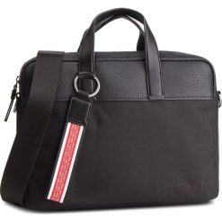 Torba na laptopa CALVIN KLEIN - Vault Laptop Bag K50K504284 001. Czarne torby na laptopa Calvin Klein, z materiału. Za 649,00 zł.
