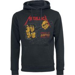 Metallica Harvester Retro Bluza z kapturem czarny. Czarne bluzy męskie rozpinane Metallica, s, z nadrukiem, z kapturem. Za 164,90 zł.