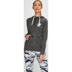 Nike Sportswear - Bluza. Szare bluzy rozpinane damskie Nike Sportswear, l, z bawełny, z kapturem. W wyprzedaży za 199,90 zł.
