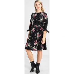 Sukienki hiszpanki: Dorothy Perkins Curve FLORAL Sukienka z dżerseju black