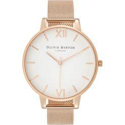 Olivia Burton DIAL BIG DIAL Zegarek rose goldcoloured. Czerwone, analogowe zegarki damskie Olivia Burton. Za 579,00 zł.