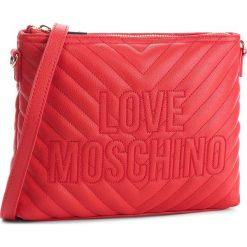 Torebka LOVE MOSCHINO - JC4265PP06KI0500 Rosso. Czerwone listonoszki damskie Love Moschino, ze skóry ekologicznej. Za 589,00 zł.