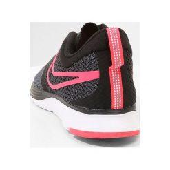 Nike Performance ZOOM STRIKE Obuwie do biegania treningowe black/dark grey/anthracite/racer pink. Czarne buty do biegania damskie marki Nike Performance, z materiału. W wyprzedaży za 195,30 zł.