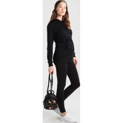 Bluzki asymetryczne: Boob WARMER HOODIE Bluzka z długim rękawem black