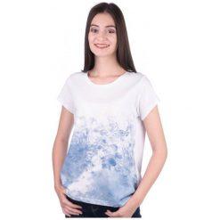 Mustang T-Shirt Damski M Biały. Niebieskie t-shirty damskie marki Mustang, z aplikacjami, z bawełny. W wyprzedaży za 62,00 zł.