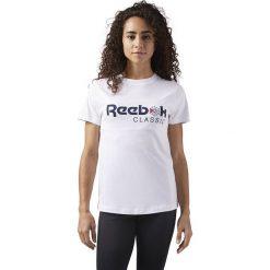 Koszulka Reebok F classic (CD8251). Szare bluzki damskie marki Reebok, l, z dzianiny, z okrągłym kołnierzem. Za 59,99 zł.
